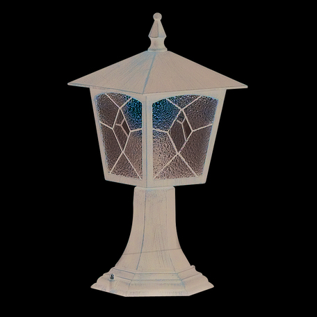 Садово-парковый светильник Globo Atlanta 3127, IP44, 1xE27x60W, металл, металл со стеклом