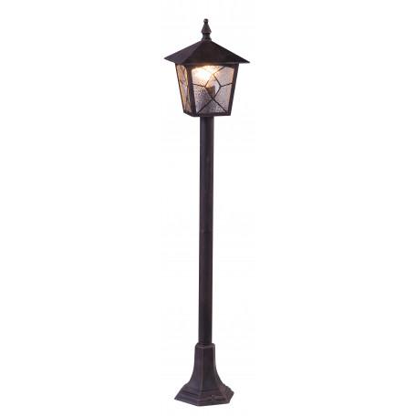 Садово-парковый светильник Globo Atlanta 3128, IP44, 1xE27x60W, металл, стекло