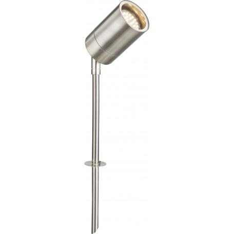Садово-парковый светильник с регулировкой направления света Globo Style 32077, IP44, 1xGU10x35W, металл, стекло