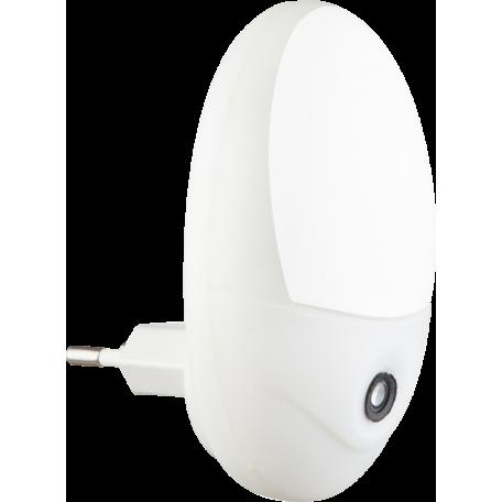 Штекерный светодиодный светильник-ночник Globo Chaser 31934W, LED 2,4W 6500K, пластик