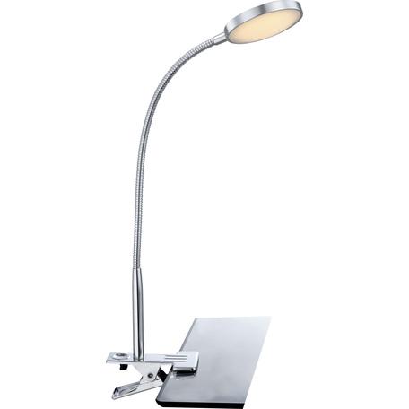 Светодиодный светильник на прищепке Globo Pegasi 24103K, LED 3W, 6000K (холодный), металл, пластик