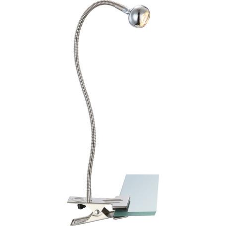 Светодиодный светильник на прищепке Globo Serpent 24109K, LED 3W, 3000K (теплый), металл, пластик