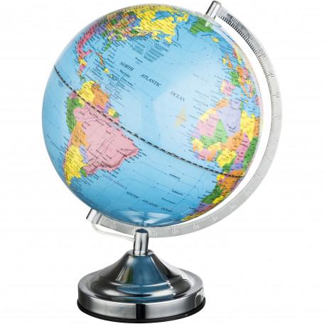 Светящийся глобус Globo Globe 2489N, 1xE14x25W, металл, пластик