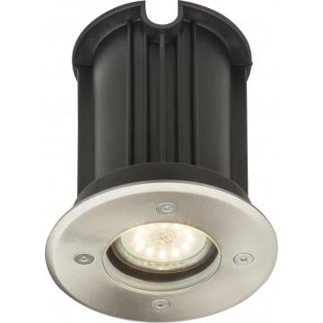 Встраиваемый в уличное покрытие светильник Globo Style II 31100, IP67, 1xGU10x40W, металл, стекло