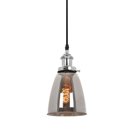 Подвесной светильник Lumina Deco Fabi LDP 6800 CHR+GY, 1xE27x40W, хром, дымчатый, металл, стекло