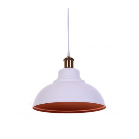 Подвесной светильник Lumina Deco Boggi LDP 6858 WT+BRONZE, 1xE27x40W, бронза, белый, металл