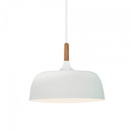 Подвесной светильник Lumina Deco Bersa LDP 7024-320 WT+WT, 1xE27x40W, белый, металл с деревом, металл