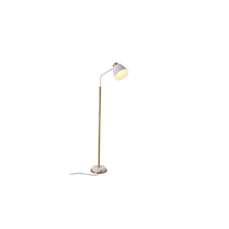 Торшер Lumina Deco Ardini LDF 5525 WT+GD, 1xE27x40W, матовое золото, белый, металл
