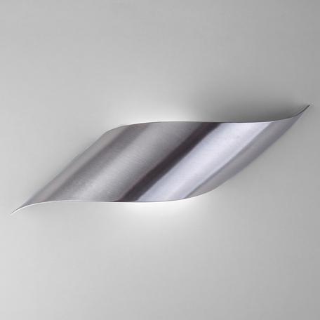 Настенный светодиодный светильник Eurosvet Elegant 40130/1 LED сатин-никель 6W, a040586, LED 6W 4200K 451lm, никель, металл