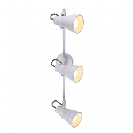 Потолочный светильник с регулировкой направления света Citilux Бейкер CL541530, 3xE14x60W, белый, металл
