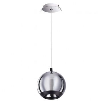 Встраиваемый подвесной светильник Novotech 358042, хром, металл