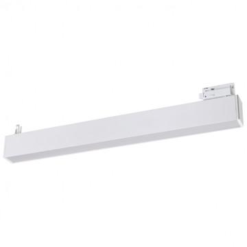 Светодиодный светильник для шинной системы Novotech Port Iter 358047, LED 30W 4000K 2100lm, белый, металл, пластик