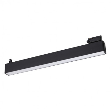 Светодиодный светильник для шинной системы Novotech Iter 358048, LED 30W 4000K 2100lm, черный, металл, пластик
