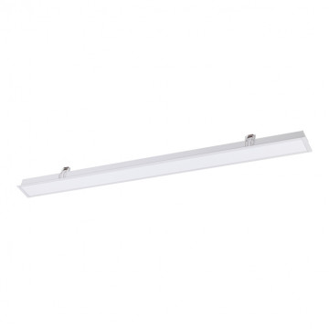 Встраиваемая светодиодная панель Novotech Iter 358044, LED 40W 4000K 2870lm, белый, металл со стеклом/пластиком, пластик