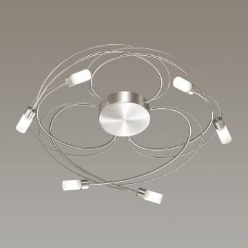 Потолочная люстра Lumion Molly 4400/6C, никель, матовый, металл, стекло - миниатюра 3