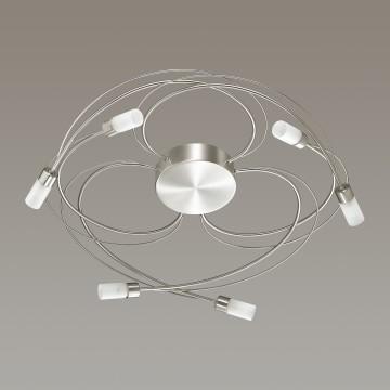 Потолочная люстра Lumion Molly 4400/6C, никель, матовый, металл, стекло - миниатюра 4