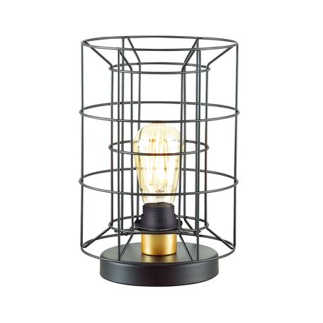 Настольная лампа Lumion Rupert 4410/1T, матовое золото, черный, металл
