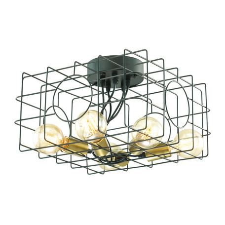 Потолочная люстра Lumion Otis 3782/5C, бронза, черный, металл