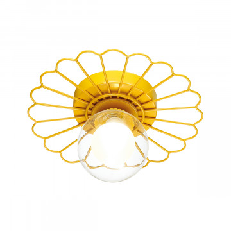 Потолочный светильник Lumion Moderni Mimi 3779/1W, 1xG9x40W, желтый, прозрачный, металл, стекло