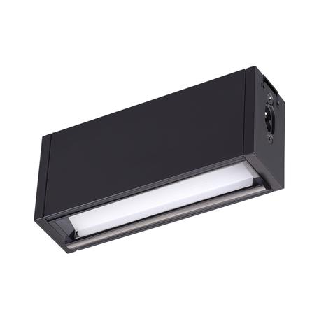 Светодиодный светильник для модульной системы Novotech Ratio 358104, LED 5W, 4000K (дневной), белый, черный, металл, пластик