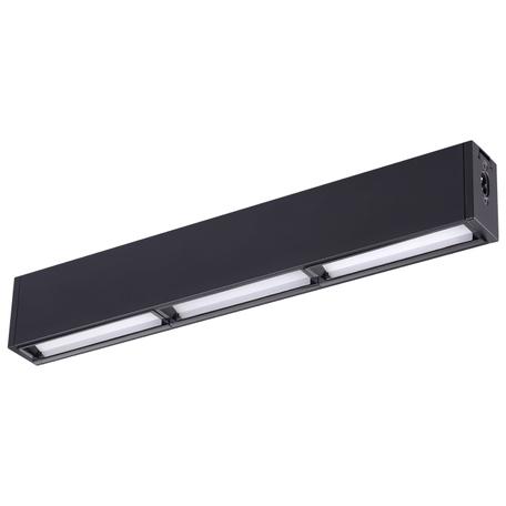 Светодиодный светильник для модульной системы Novotech Ratio 358106, LED 15W 4000K 900lm, черный, металл