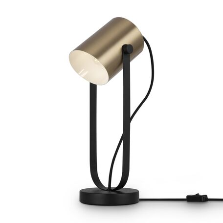 Светильник Freya Elori FR4004TL-01BBS, 1xE27x25W, черный, латунь, металл