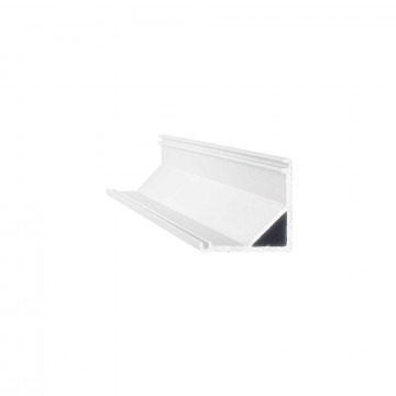 Ideal Lux SLOT SURFACE ANGOLO 3000 mm AL 204628 (SLOT SURFACE ANGOLO 3000 mm ALUMINUM), серый, белый, металл, пластик