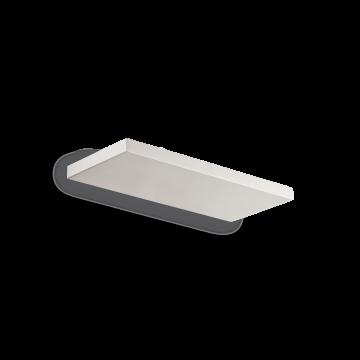 Настенный светильник с полкой Ideal Lux BILL AP30 BIANCO 201139 3000K (теплый), белый, металл, пластик