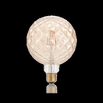 Светодиодная лампа Ideal Lux LAMPADINA VINTAGE E27 4W PEARL 201290 шар E27 4W, 2200K (теплый) - миниатюра 2