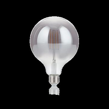 Светодиодная лампа Ideal Lux E27 VINTAGE 04W GLOBO D125 FUME' 2200K 204468 (VINTAGE E27 4W GLOBO BIG FUME' 2200K) шар малый E27 4W (теплый)