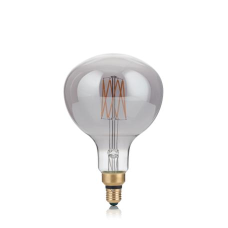 Светодиодная лампа Ideal Lux E27 VINTAGE XL 04W GLOBO D095 FUME' 2200K 204505 (VINTAGE XL E27 4W GLOBO SMALL FUME 2200K) шар малый E27 4W (теплый)