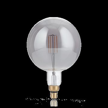 Светодиодная лампа Ideal Lux E27 VINTAGE XL 04W GLOBO D125 FUME' 2200K 204536 (VINTAGE XL E27 4W GLOBO BIG FUME' 2200K) шар E27 4W (теплый)