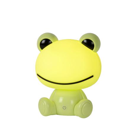 Настольная светодиодная лампа-ночник Lucide Dodo Frog 71592/03/85, LED 3W, зеленый, пластик