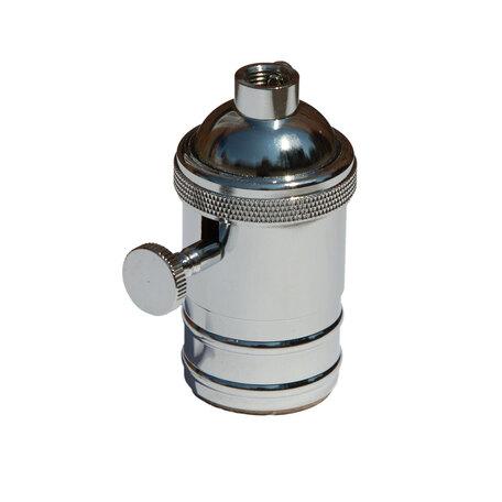 Патрон Loft It Edison Bulb LD4002-7, хром, металл