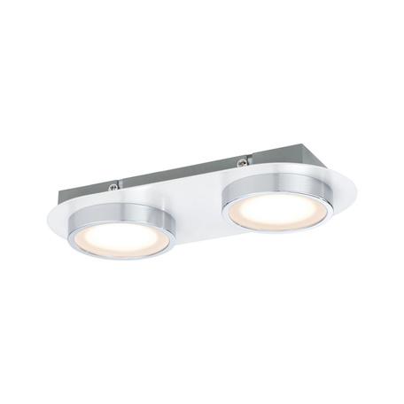 Потолочный светодиодный светильник Paulmann Liao 70943, LED 9,4W, хром, металл, металл с пластиком