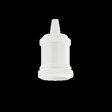 Патрон Ideal Lux Portalampada E27 Ghiera 249186, белый