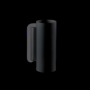 Светильник Ideal Lux Paul AP2 Round 231105, G9x80W, черный, металл, стекло - миниатюра 1