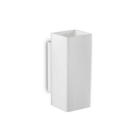Светильник Ideal Lux Paul AP2 Square 231129, G9x80W, белый, металл, стекло - миниатюра 1
