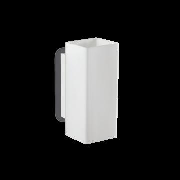 Светильник Ideal Lux Paul AP2 Square 231129, G9x80W, белый, металл, стекло