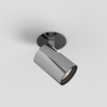 Встраиваемый светильник с регулировкой направления света Astro Aqua 1393008 (6173), 1xGU10x6W, хром, металл, стекло