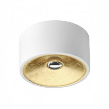 Потолочный светильник Odeon Light Hightech Glasgow 3892/1C, 1xGU10x50W, белый, матовое золото, металл