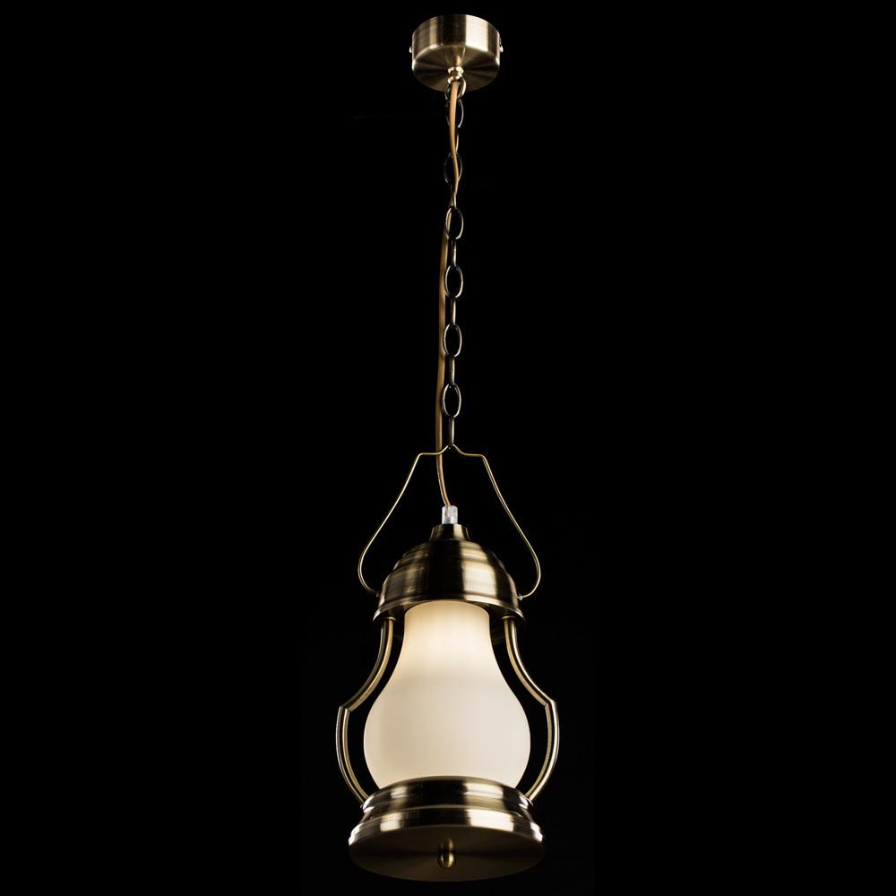 Arte Lamp Lumino A1502SP-1AB, 1xE14x40W, белый - фото 2