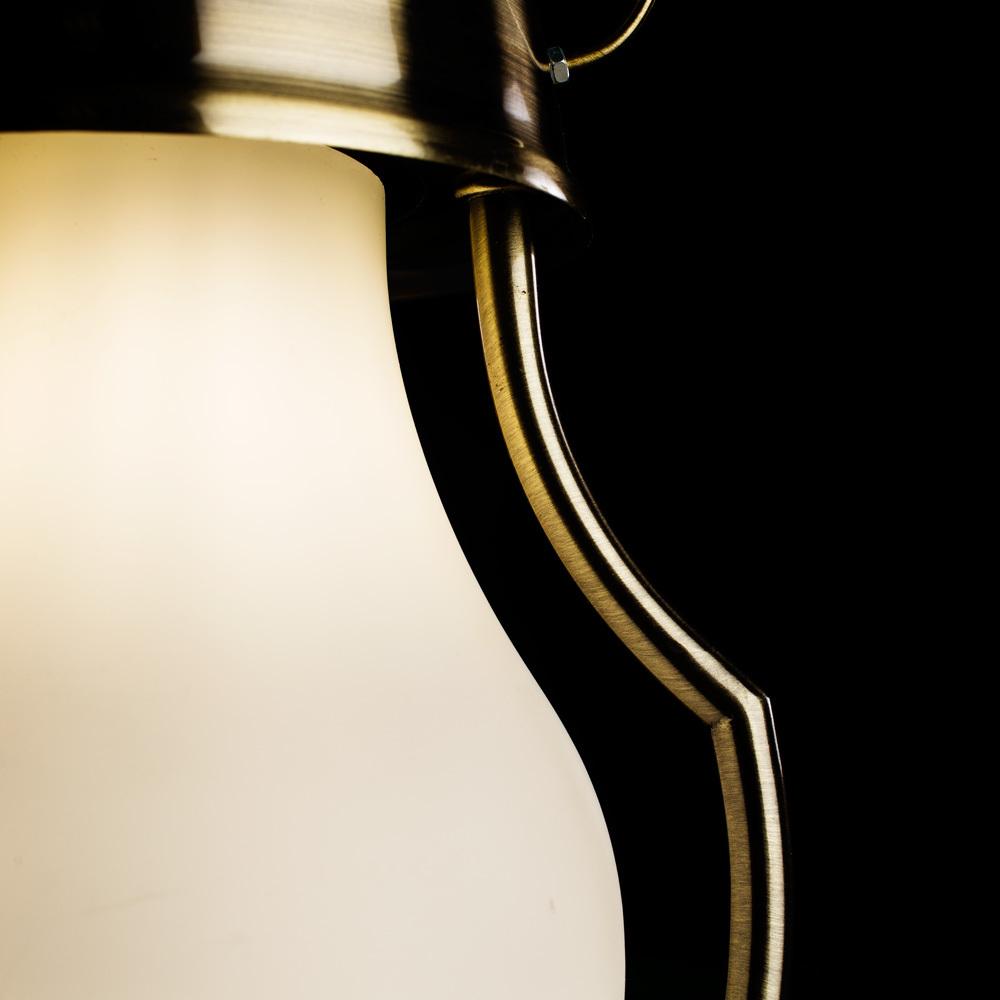 Arte Lamp Lumino A1502SP-1AB, 1xE14x40W, белый - фото 3