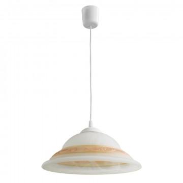 Arte Lamp Cucina A3434SP-1WH, 1xE27x60W, белый, бежевый