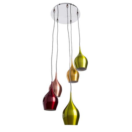 Arte Lamp Vibrant A6412SP-5CC, 5xE14x40W, разноцветный