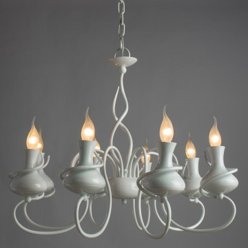 Arte Lamp Vaso A6819LM-8WH, 8xE14x40W - миниатюра 2