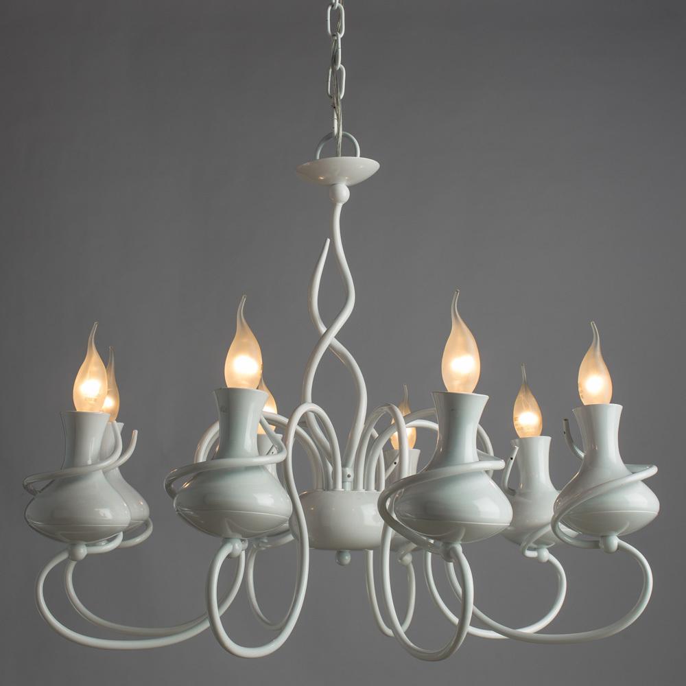 Arte Lamp Vaso A6819LM-8WH, 8xE14x40W - фото 2