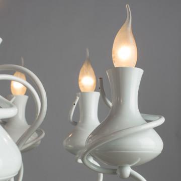 Arte Lamp Vaso A6819LM-8WH, 8xE14x40W - миниатюра 3