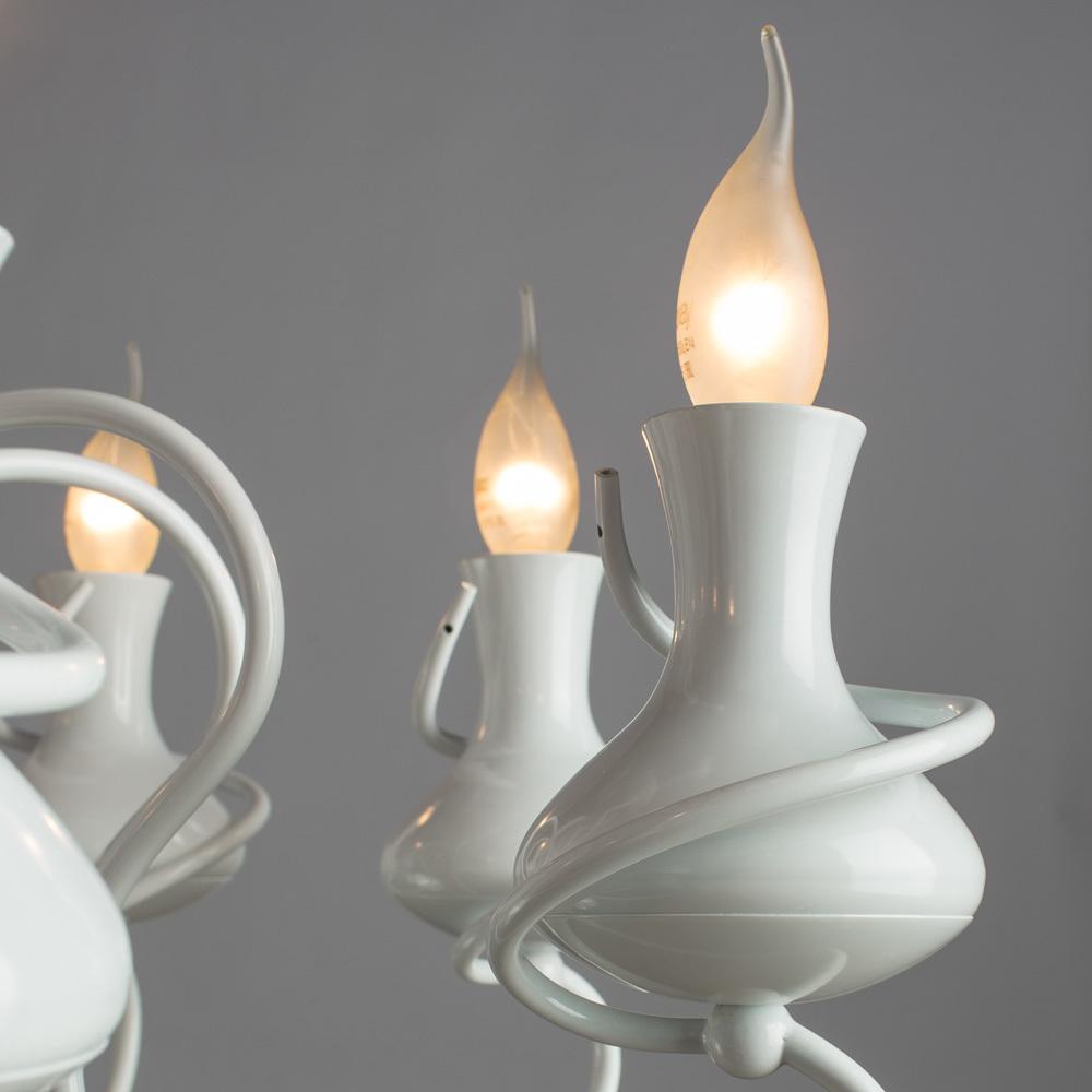 Arte Lamp Vaso A6819LM-8WH, 8xE14x40W - фото 3
