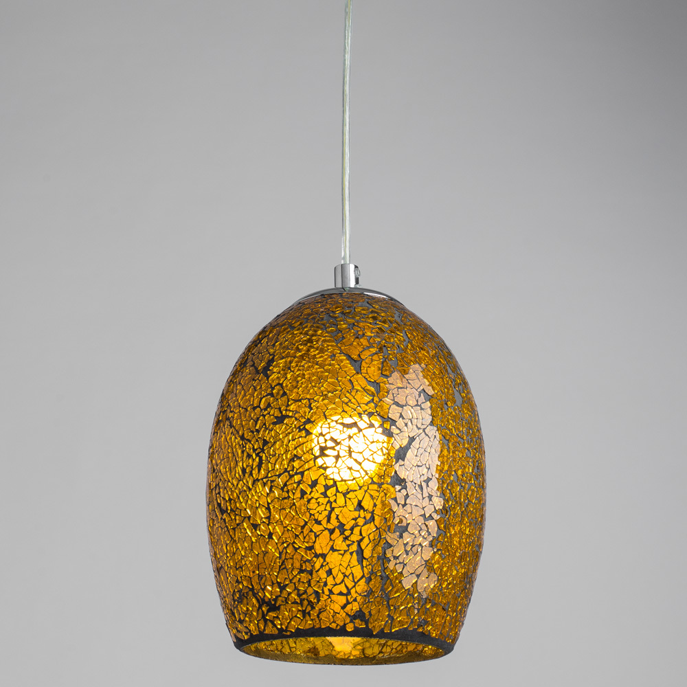 Arte Lamp Mosaic A8063SP-1CC, 1xE27x60W, оранжевый - фото 2